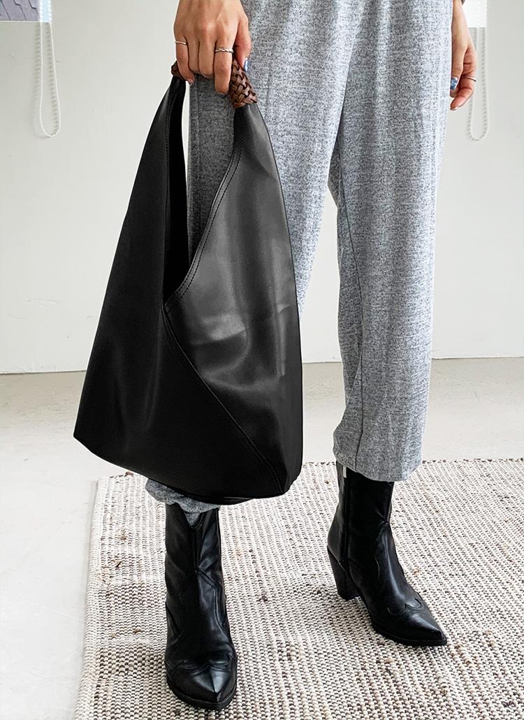 ポーチ付メッシュハンドルトートバッグ・全3色