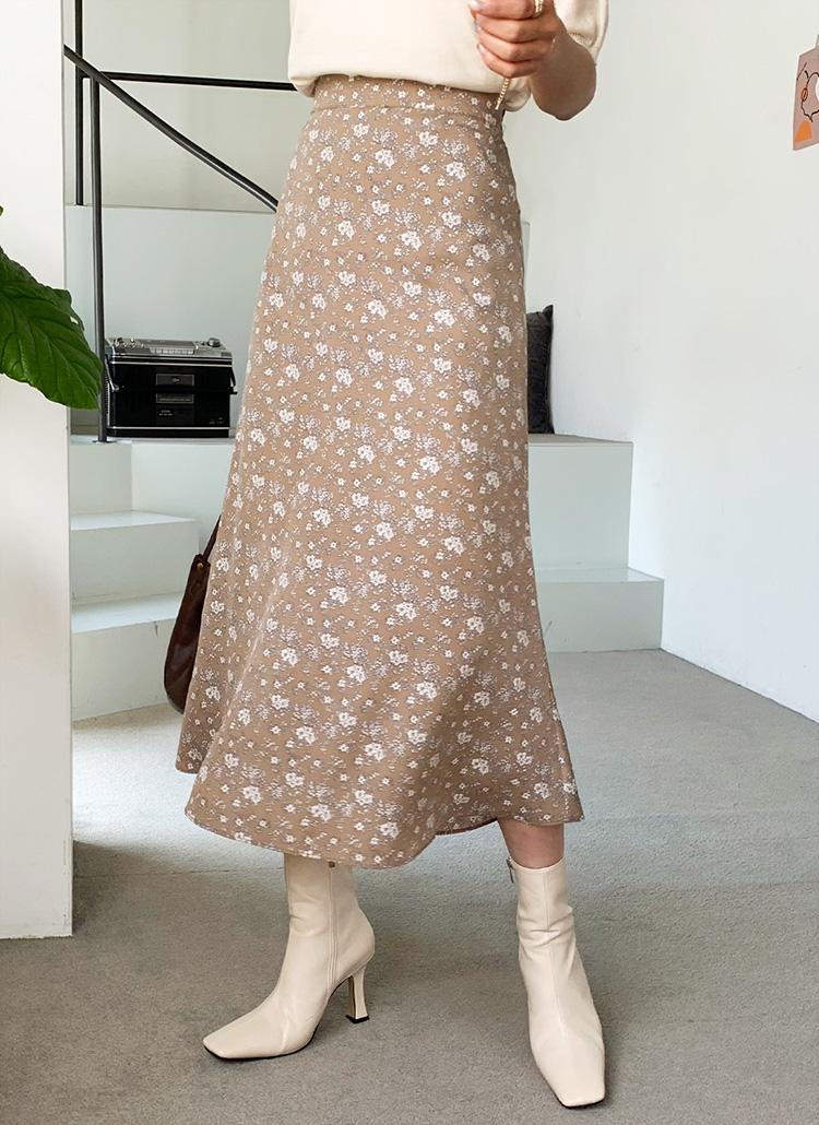 フローラルフレアスカート・全3色