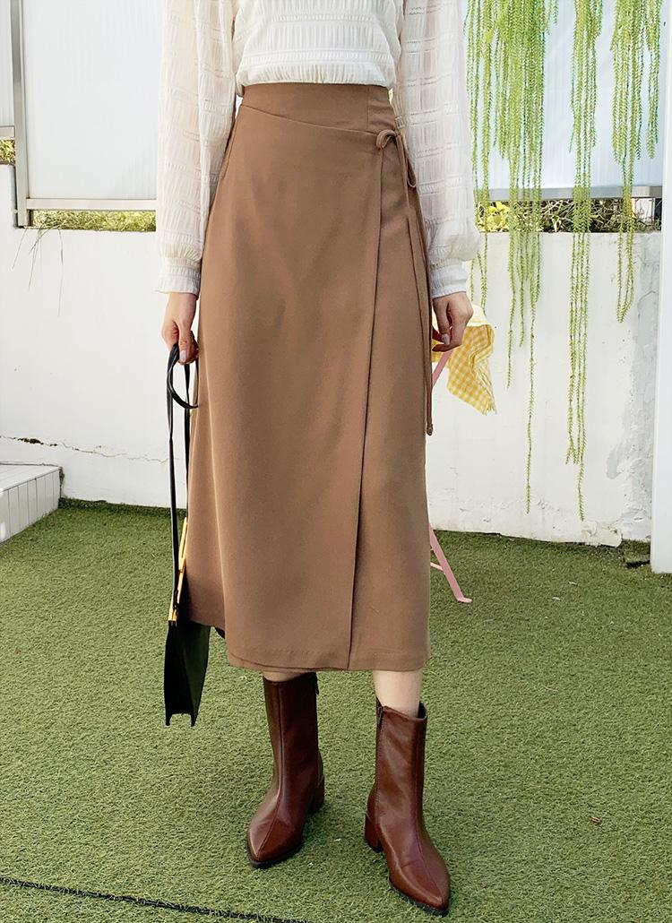ラップHラインスカート・全2色