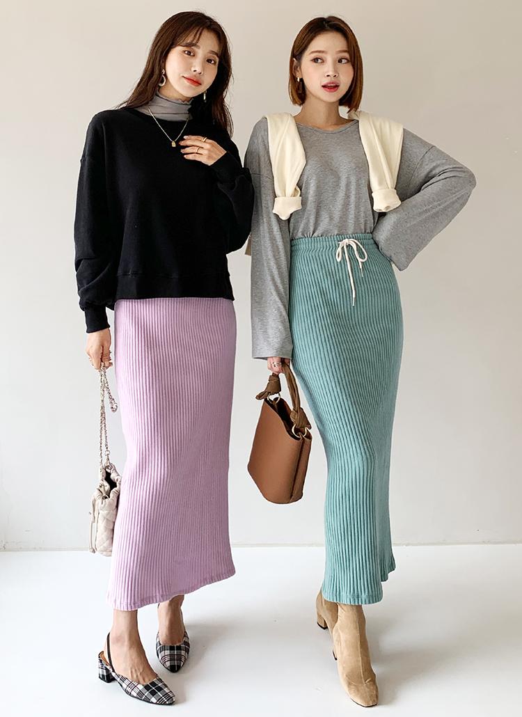 ドロストリブスカート・全3色