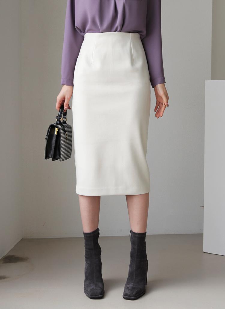 Hラインスカート・全4色