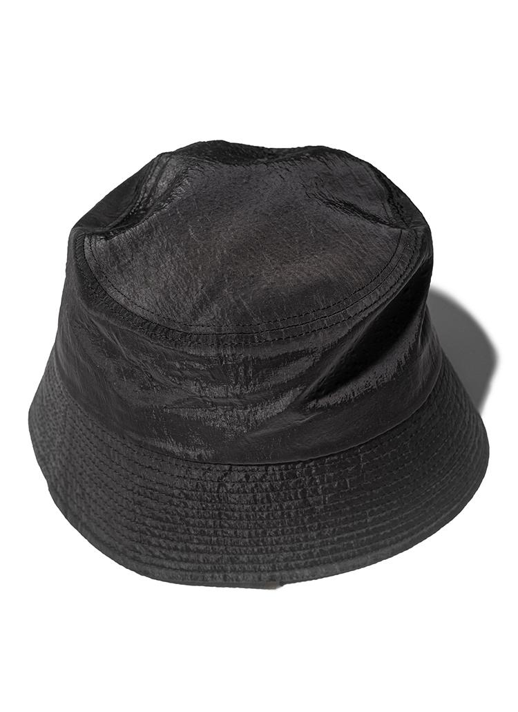 ナイロンバケットハット(black)