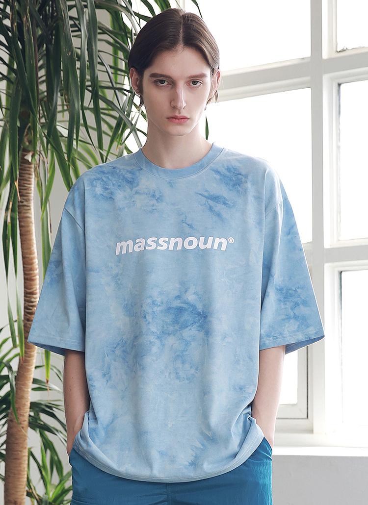 タイダイオーバーサイズTシャツ(BLUE)