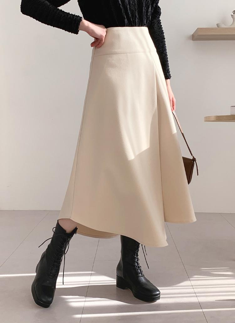 スリットフレアスカート・全3色