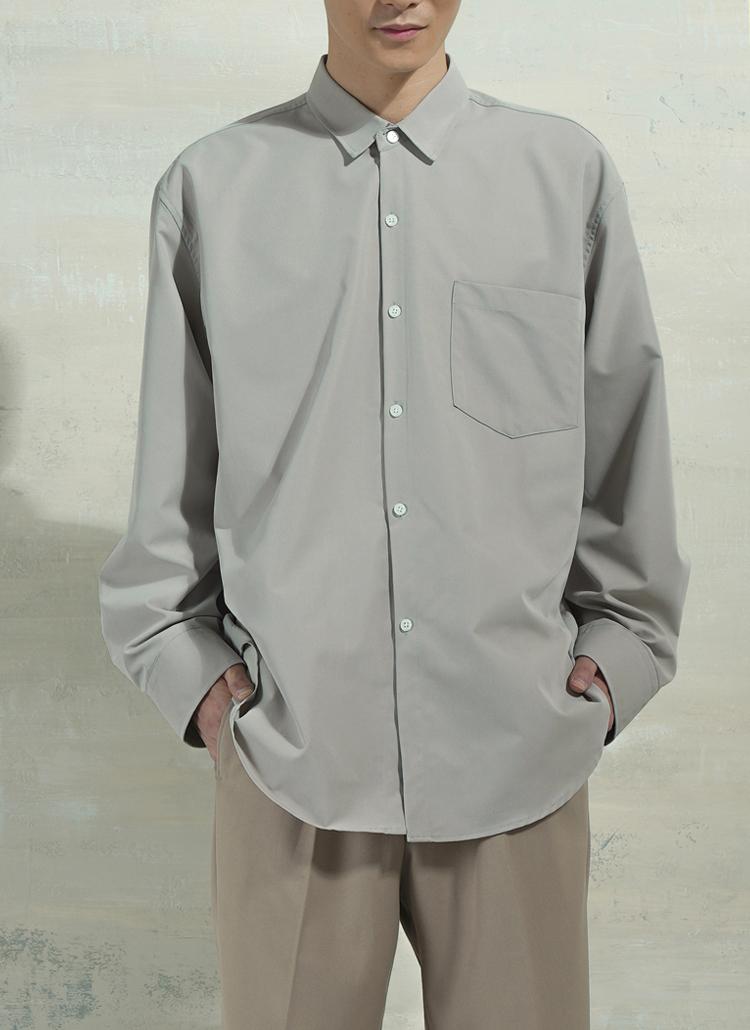 ベンジャミンオーバーシャツ・全3色
