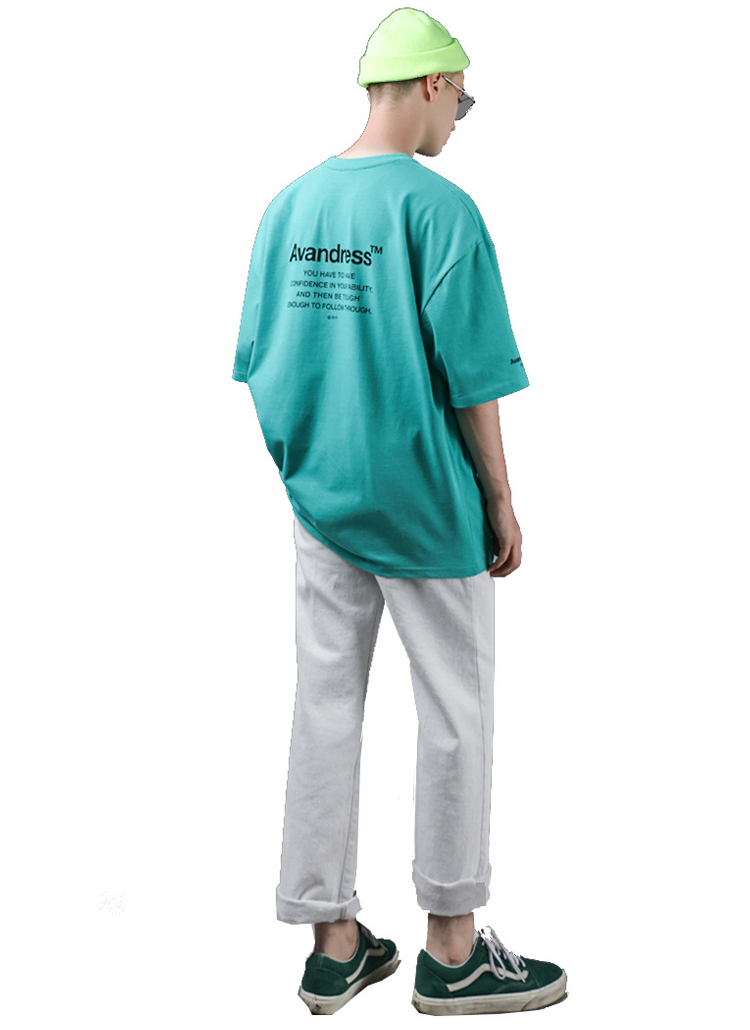 シグネチャーレタリングTシャツ(MINT)