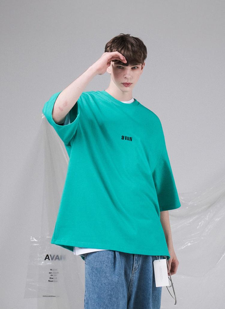 aVANオーバー半袖Tシャツ(MINT)