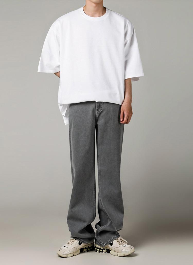 シグネチャータグオーバーTシャツ(WHITE)