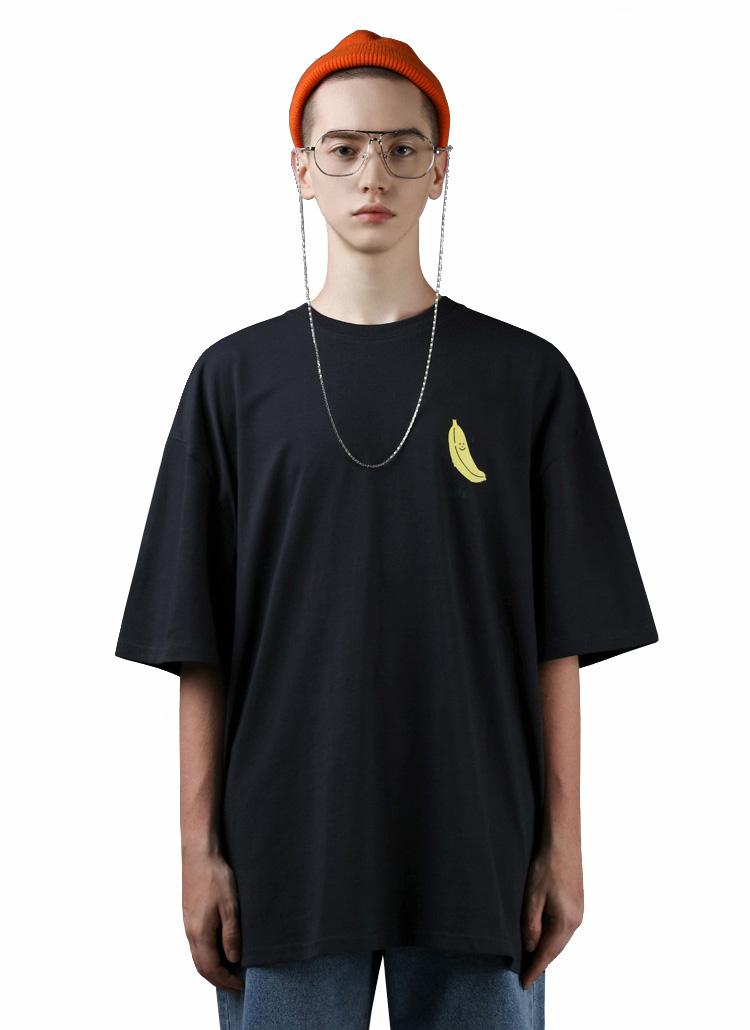 バナナ半袖Tシャツ(CHARCOAL)
