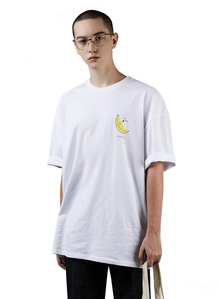 バナナ半袖Tシャツ(WHITE)