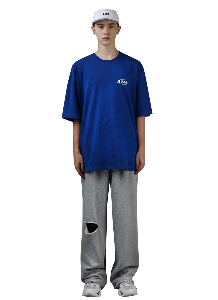 AVAN半袖Tシャツ(BLUE)