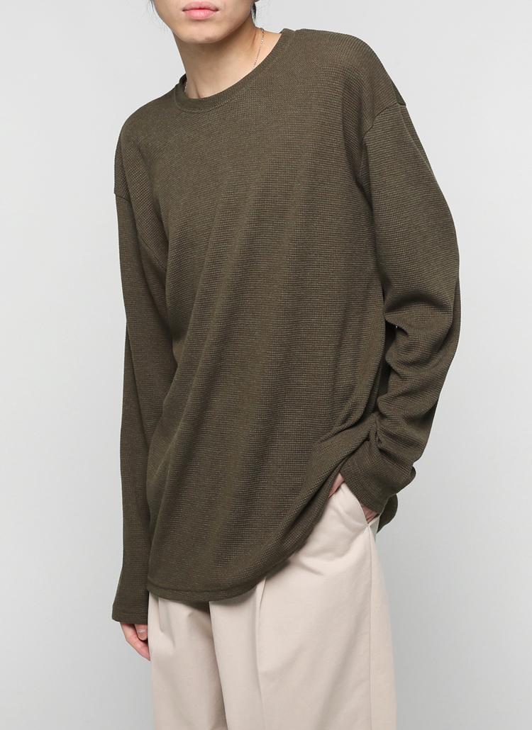 ワッフルTシャツ・全7色