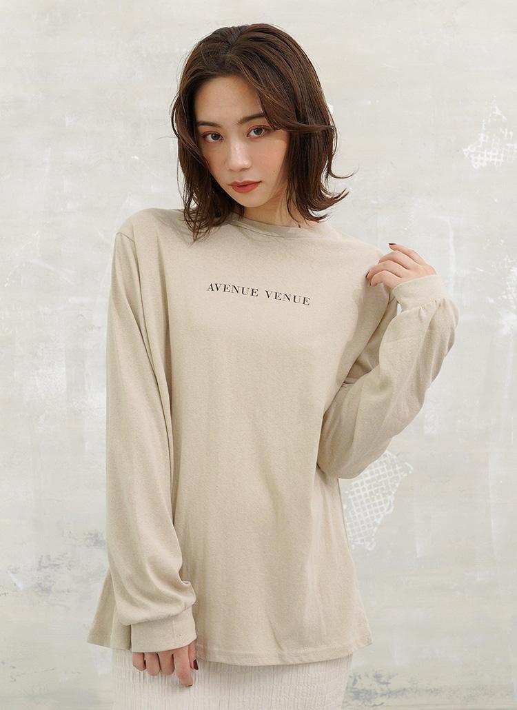 シンプルロゴTシャツ・全4色