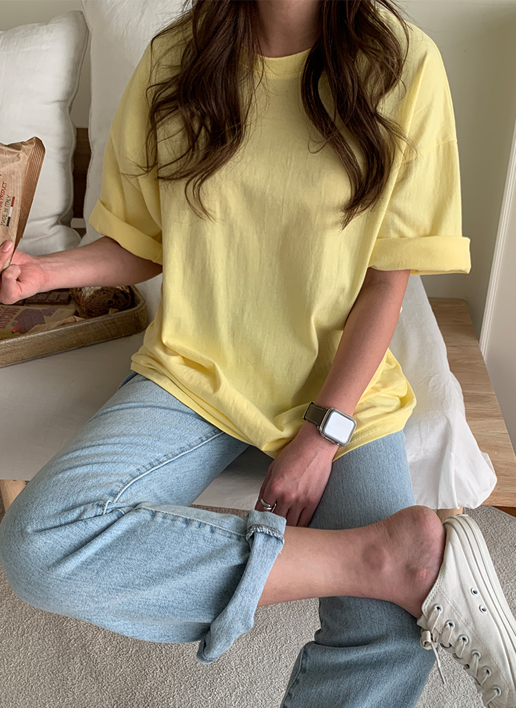 オーバー半袖Tシャツ