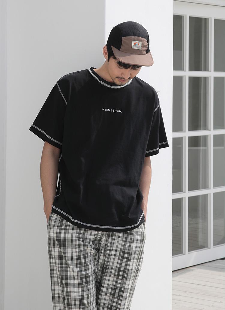 3TYPEオーバーロックロゴTシャツ・全6色