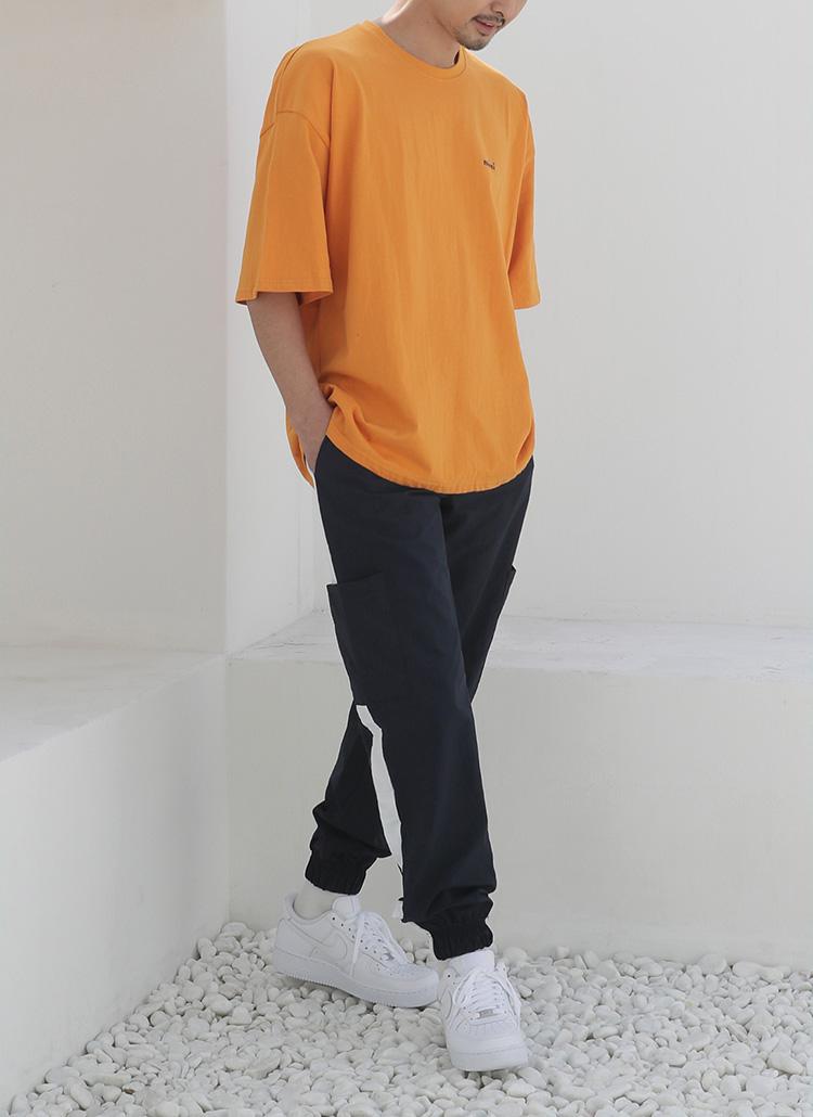 merci刺繍ロゴTシャツ・全5色