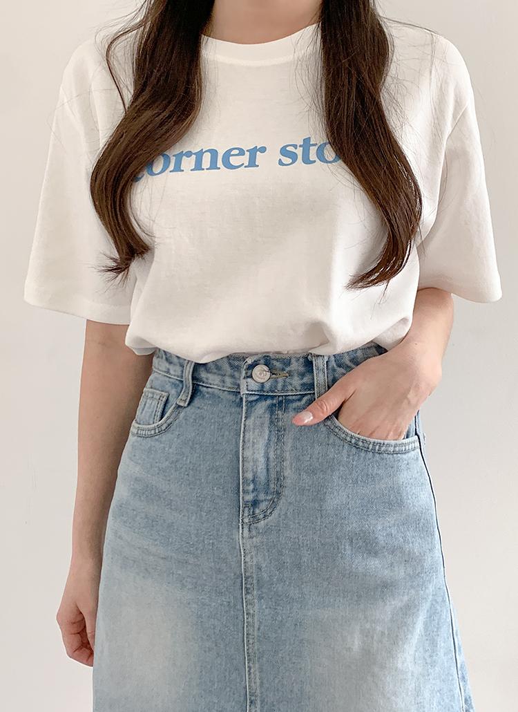 corner半袖Tシャツ