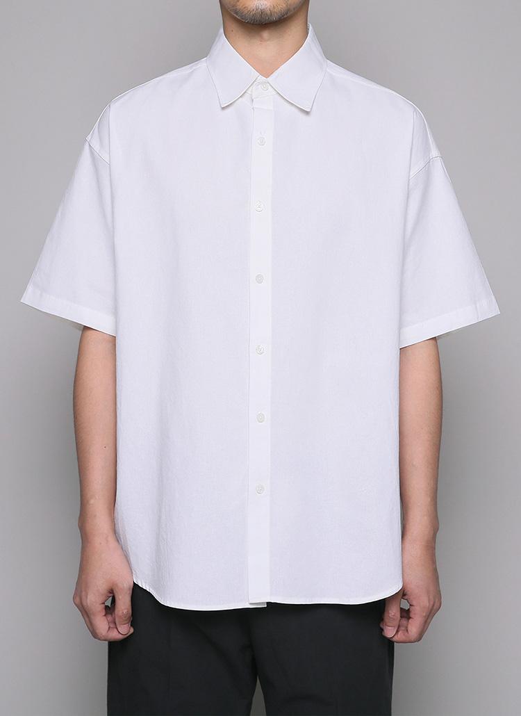 カラーハーフスリーブシャツ・全5色