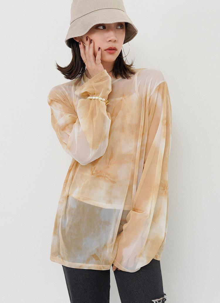 タイダイシアーロンTシャツ・全3色