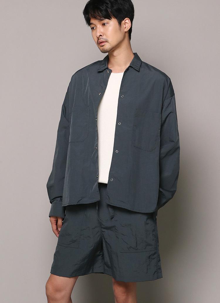 エアリーボックスシャツジャケット・全3色