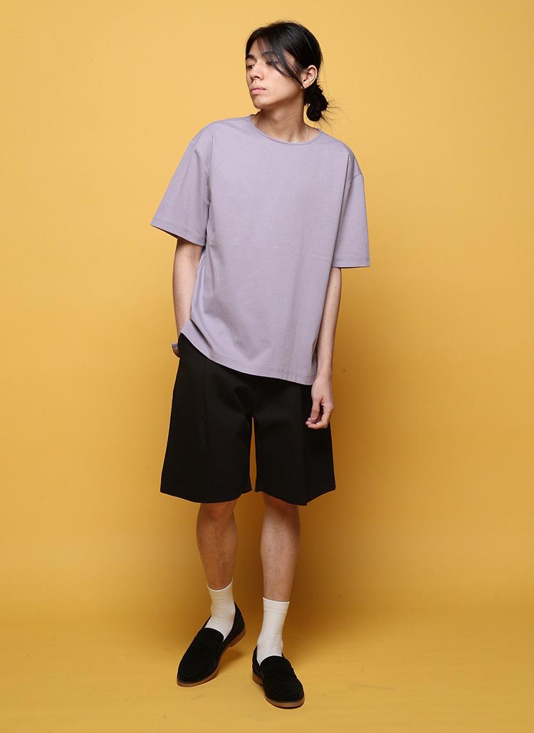 シルケット半袖Tシャツ・全7色