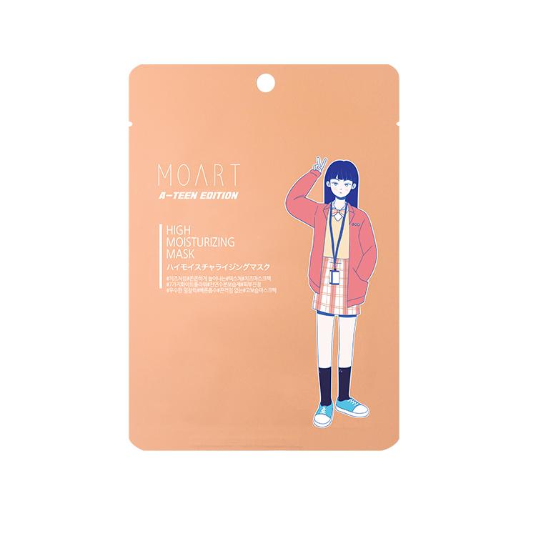 [モアート] A-TEEN チャ・アヒョンマスクパック1枚