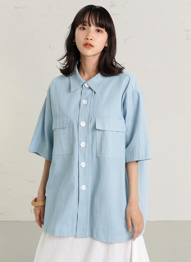 デニムシャツ・全2色