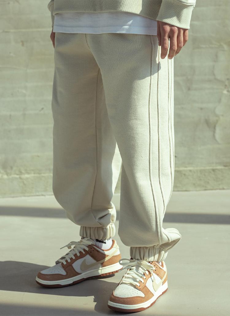 トリプルラインジョガーパンツ(BEIGE)