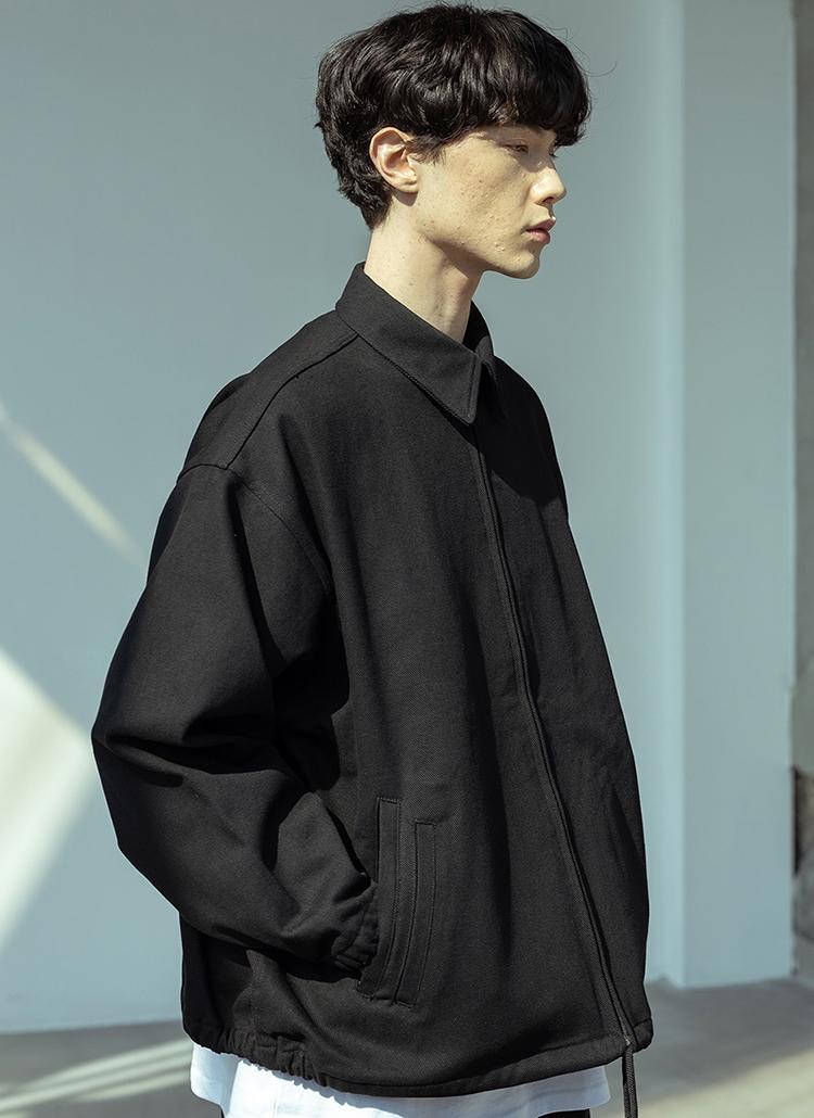 ツーポケットジャケット(BLACK)