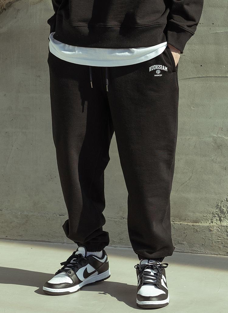 サイドロゴジョガーパンツ(BLACK)