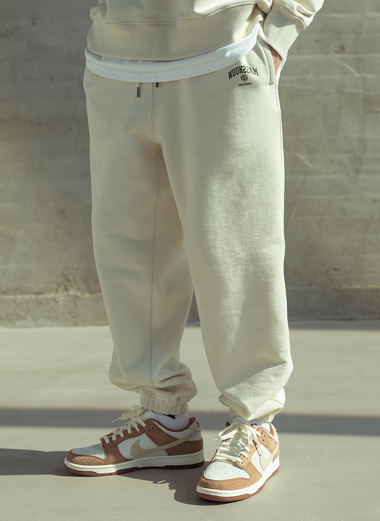 サイドロゴジョガーパンツ(Ivory)