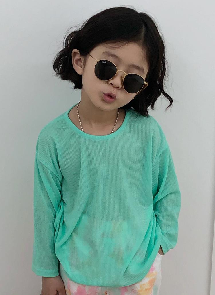 リブシアーTシャツ(junior)