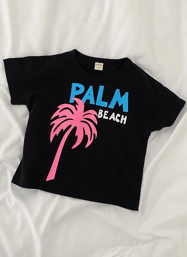 PALM半袖Tシャツ(junior)