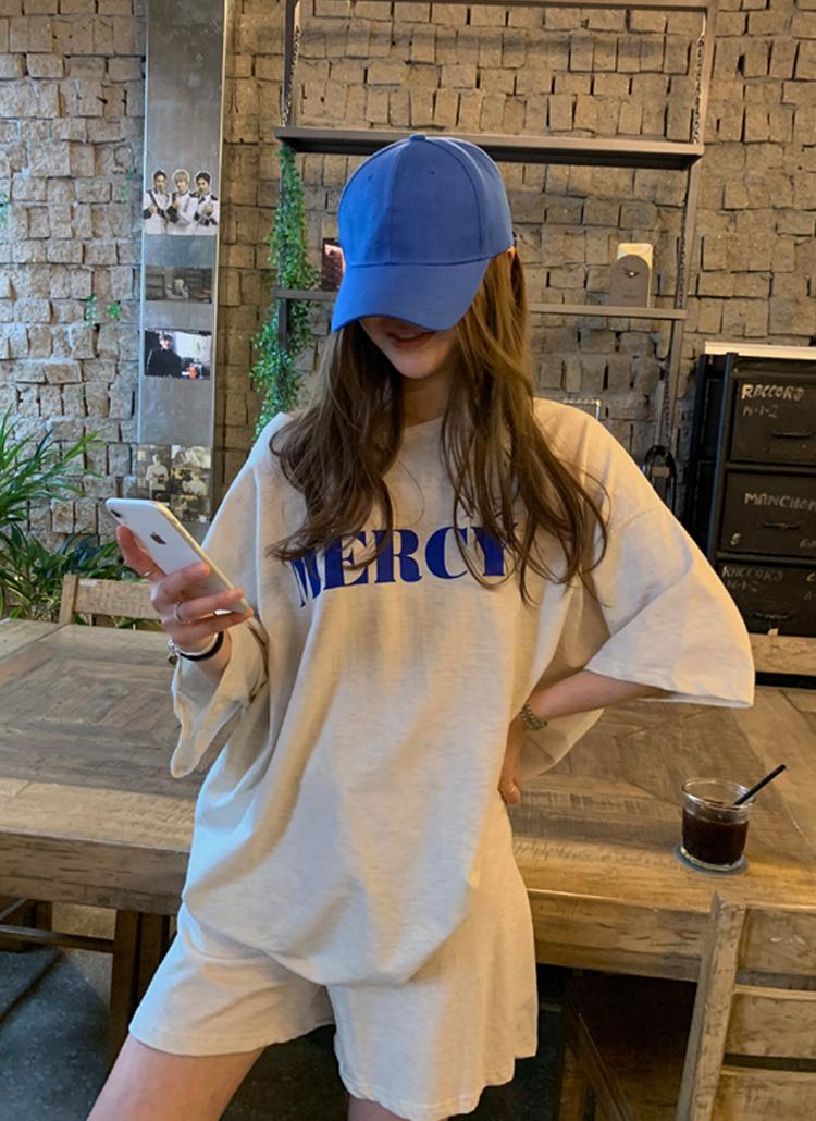 MERCY半袖Tシャツ&ショートパンツSET