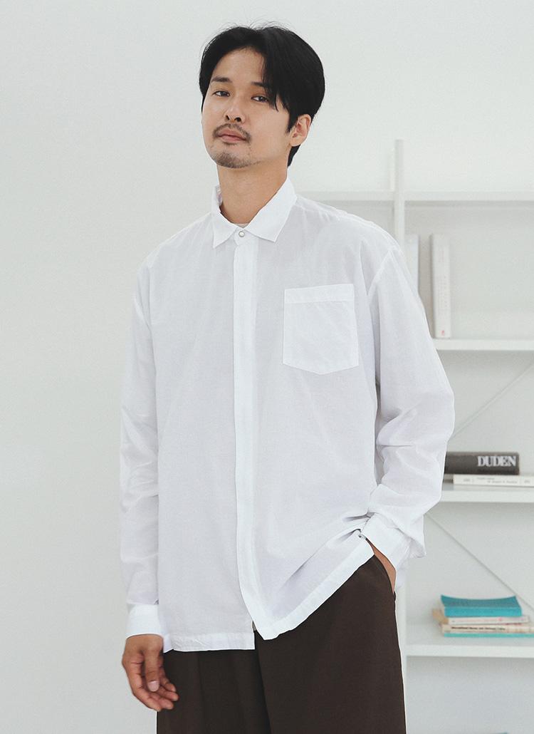 爽やかなミニマルウェア<br/>2WAYシャツジャケット