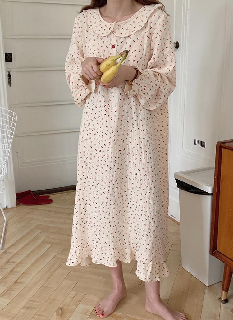 チェリーワンピースパジャマ