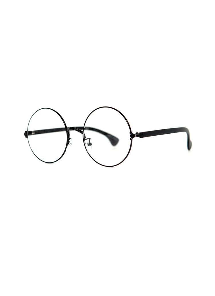 3002ラウンドフレームレトロ伊達眼鏡・全6種