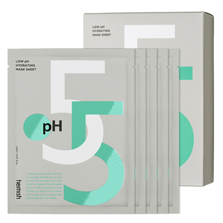 [ヘイミッシュ]Ph5.5ハイドレーティングマスクシート(5枚入り)