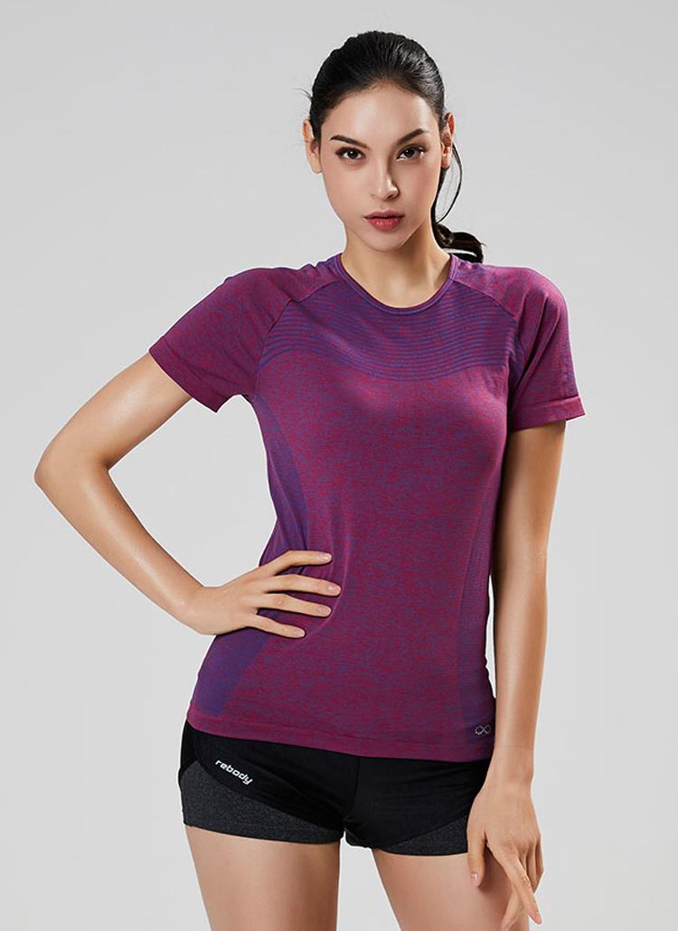 カラーポイントTシャツ(バイオレット)