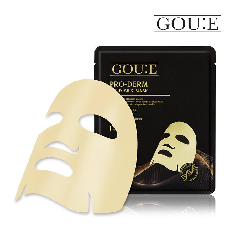 [ゴユエ]プロダームゴールドシルクマスク1枚入り