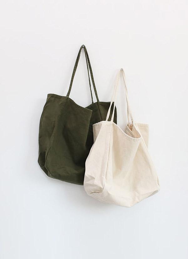 ラージサイズコットントートバッグ