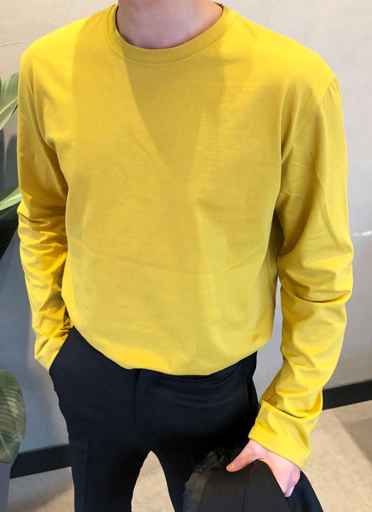 カラフルクルーネックTシャツ