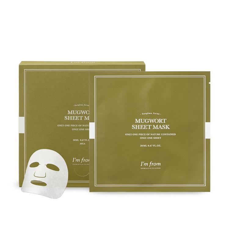 [アイムフロム]マグワートシートマスク(10枚入り)