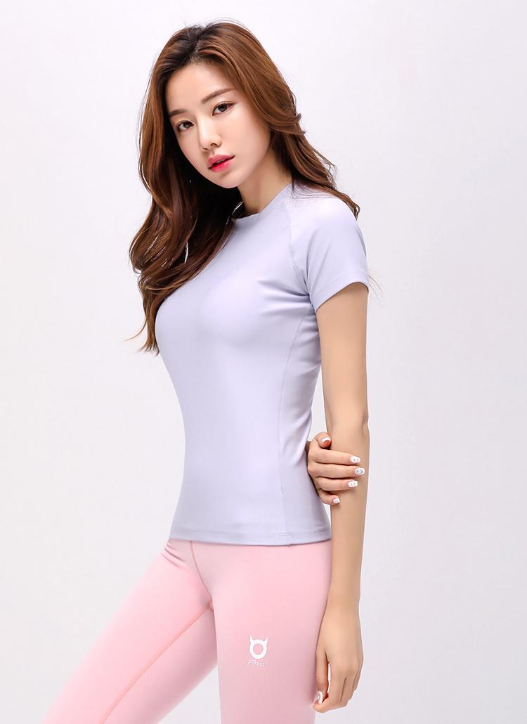 ライトカラーラグランショートスリーブTシャツ