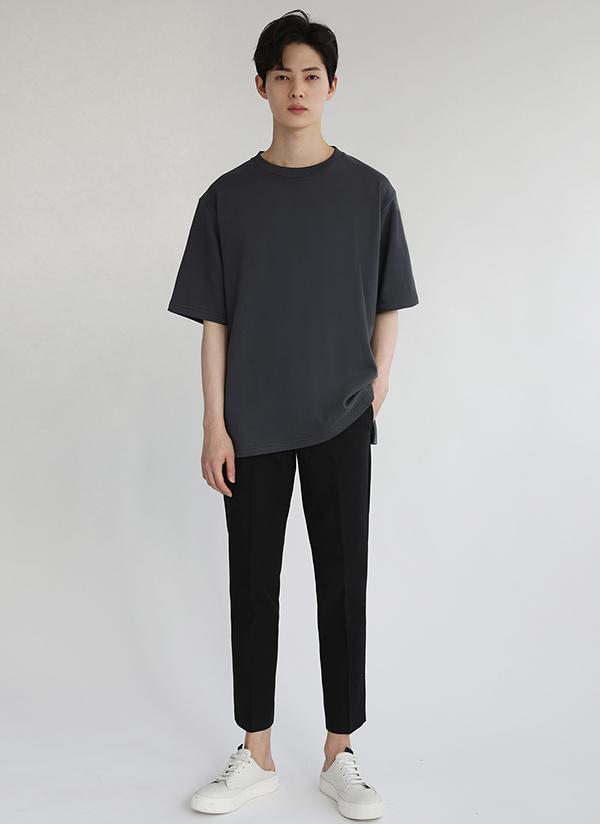 テーピング半袖Tシャツ