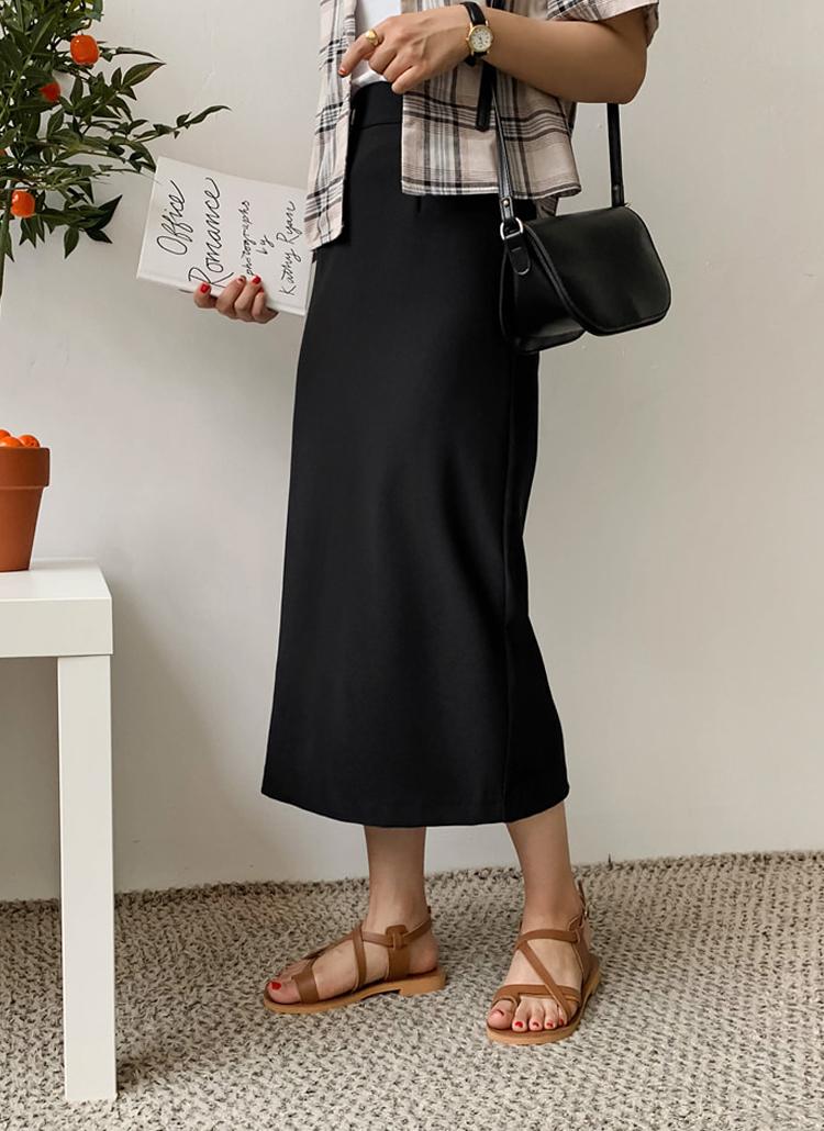 Hラインロングスカート