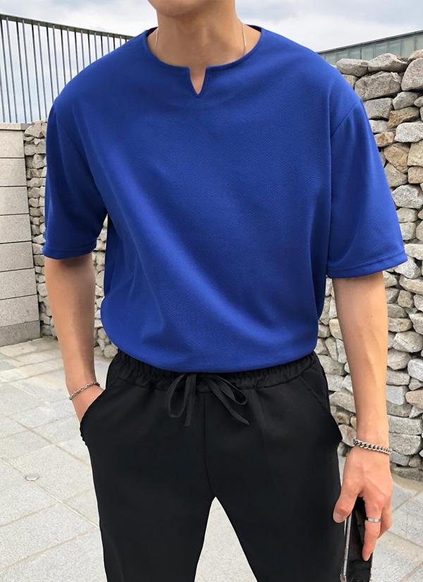 テクスチャーTシャツ(半袖)