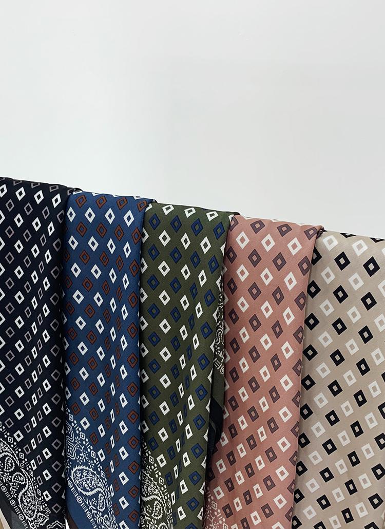 マルチパターンスカーフ・全5色