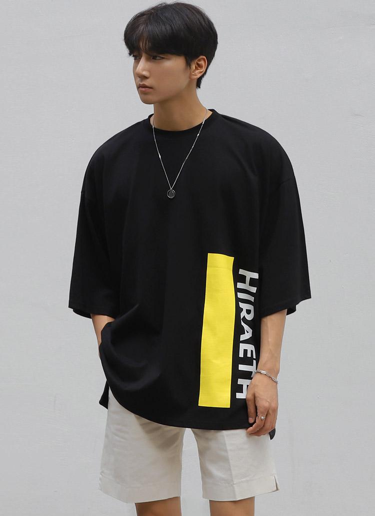 HIRAETHカラーラインTシャツ