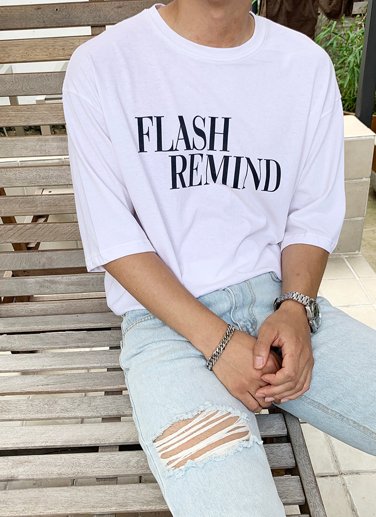 FLASH REMIND半袖Tシャツ